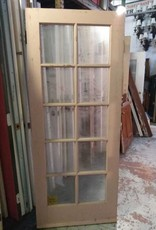 10 Panel Glass Door 32 1/2 x 80