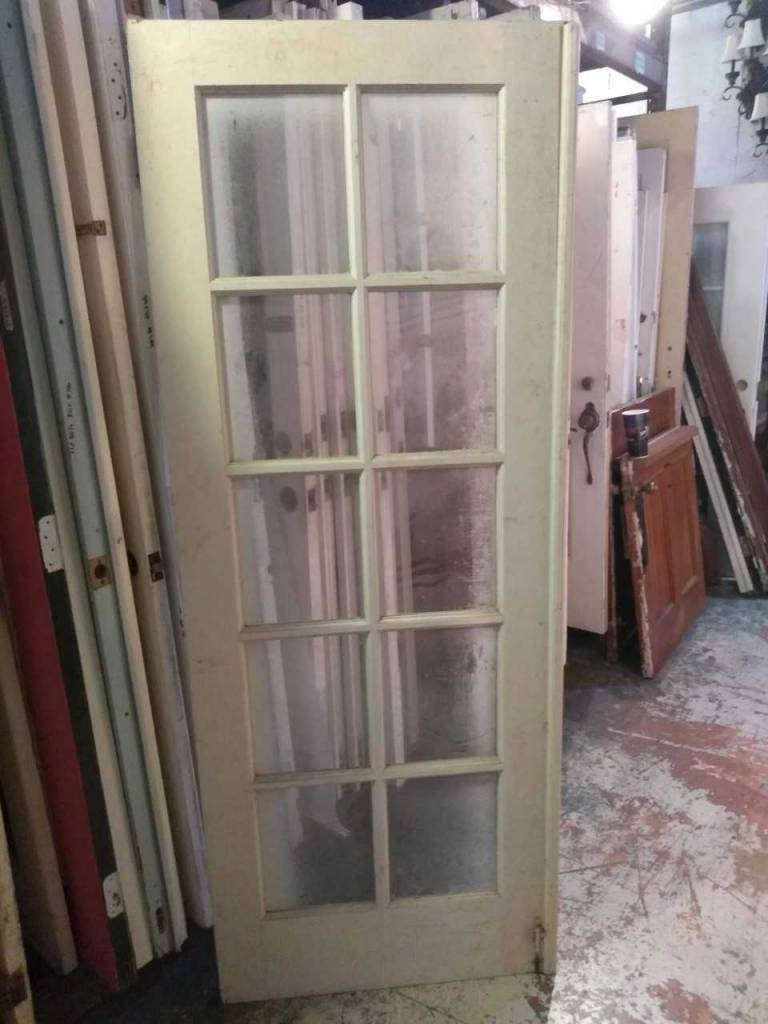 10 Panel Glass Door 31 x 80