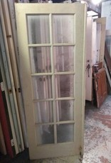 "10 Panel Glass Door 32 1/2"" x 80"