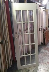15 Panel Glass Door 28 x 83 1/2