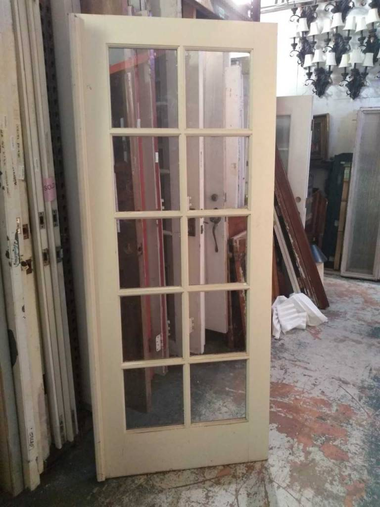 "10 Panel Glass Door 32"" x 80"""