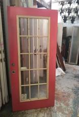 """15 Panel Glass Door 30"""" x 80"""""""