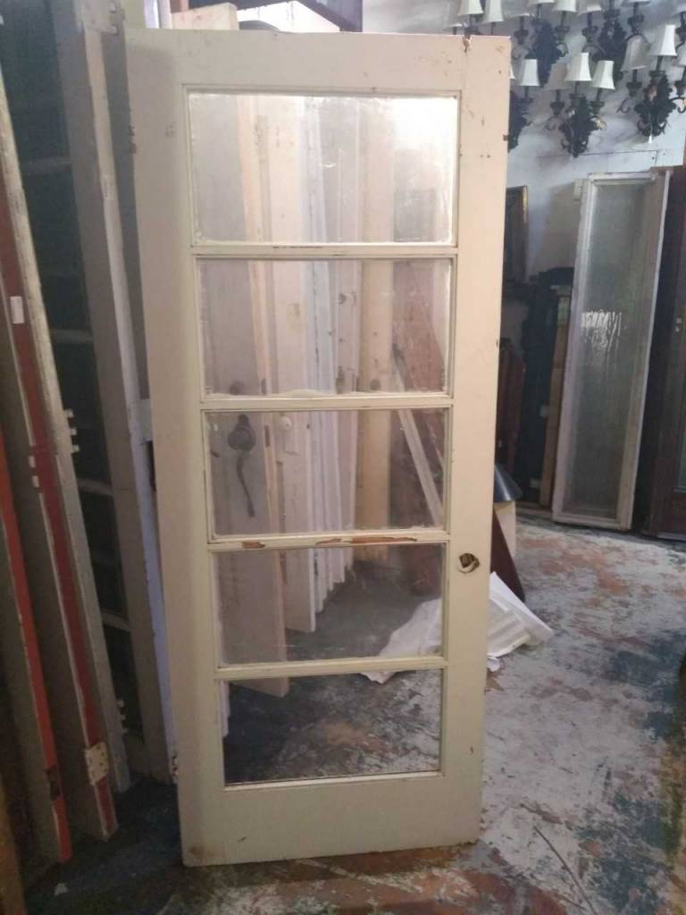 5 Panel Glass Door 32 x 79 1/2