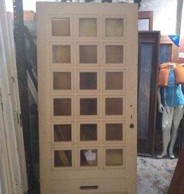18 Panel Glass Door 42 3/4 x 86