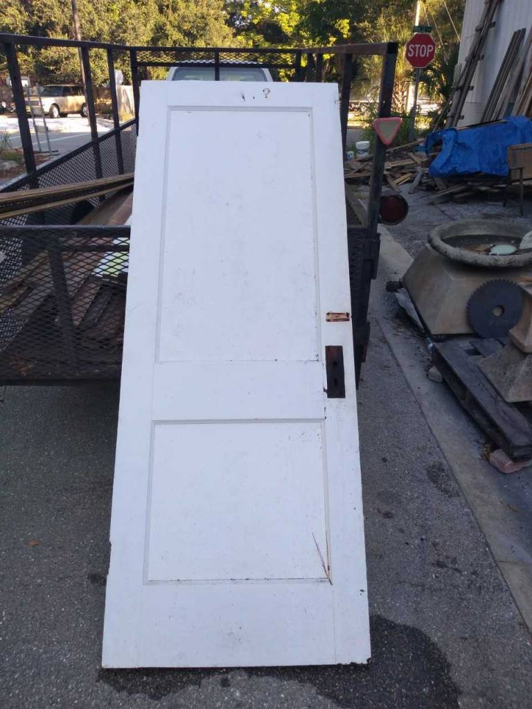 2 Panel Door 30 x 79 1/4