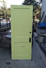 2 Panel Door  Yellow 30 x 78 3/4