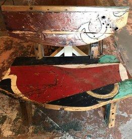 Teak Boat Bench