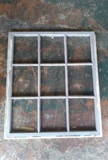 6 Pane Window  34 3/4 x 40 1/4