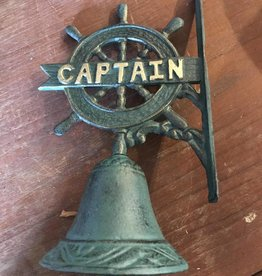Bell With Ship's Wheel