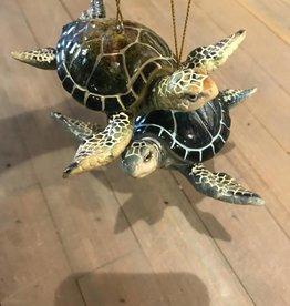 Sea Turtle Ornaments Blue