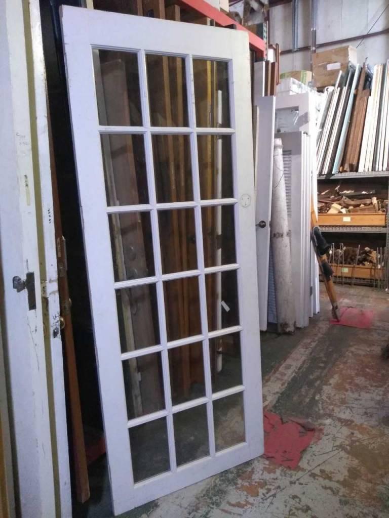 """18 Panel Glass Door 36"""" x 92 1/2"""""""