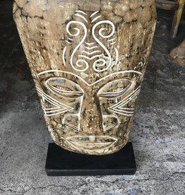Small Papua Mask on Stand