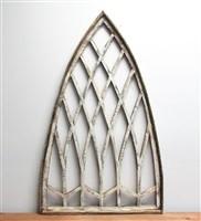 Faenza Wood Window 45''H x 28''W