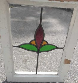 "Stained Glass Window 19"" x 14"""