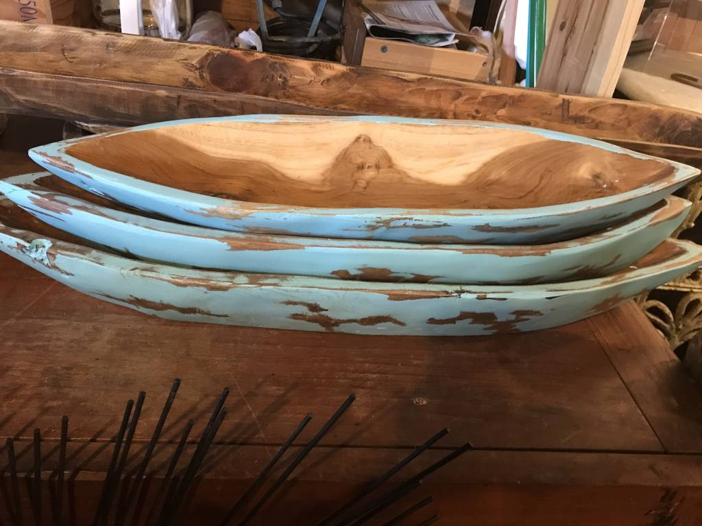 Blue Boats/Canoe (Small)