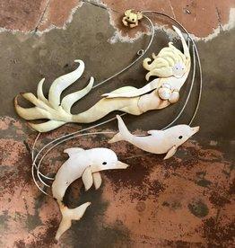 Mermaid w/ Dolphin