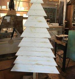 Sm Wood Christmas Tree