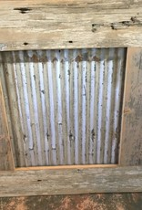 Corrugated Metal Frame