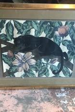 Black Panther Framed Picture
