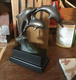 Family Dolphin Statue