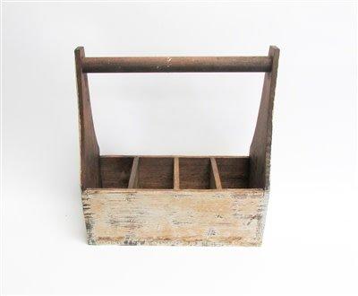 Wooden Tool Box Decor 16h X 15l X 65w Sarasota Architectural