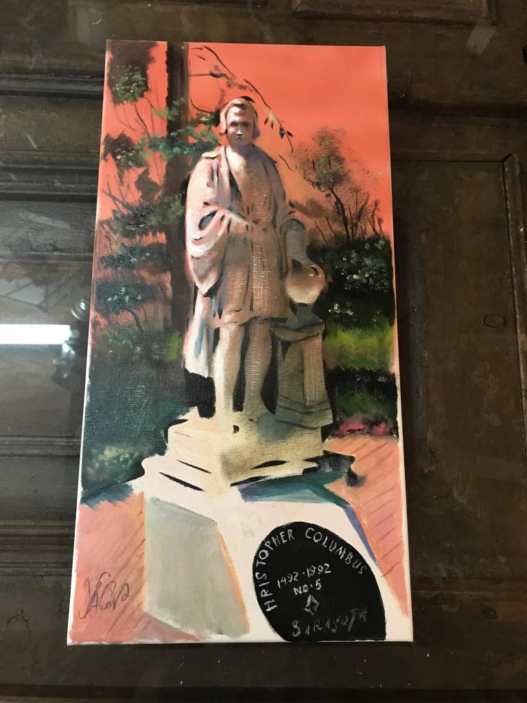 Columbus Painting
