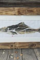 Cobia Gyotaku Original