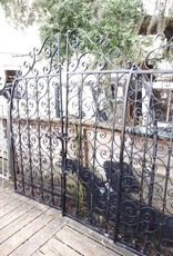 Curved Iron Door Set