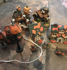 Halloween Village Set