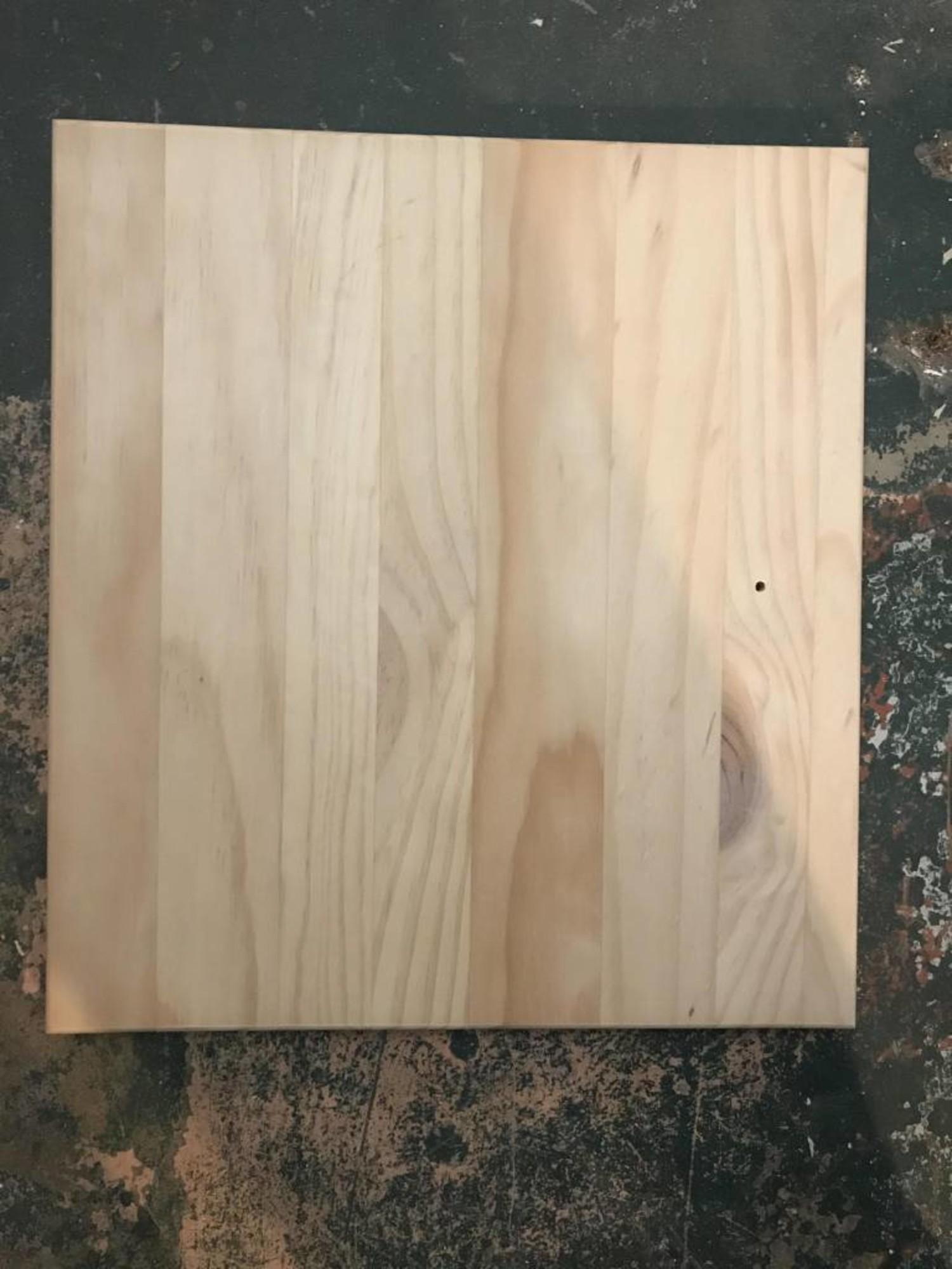 Sm Unfinished Cabinet Door 14 1 2 X 16