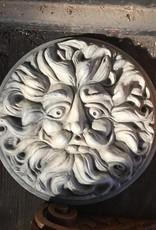 Round Sun Plaque