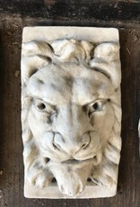 Small Rectangle Lion Plaque