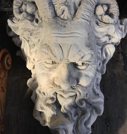 Bearded Man w/ Horns Plaque