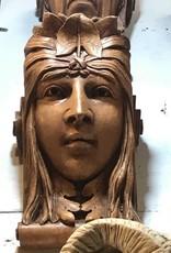 Kings Head Lady Soldier Leaf Head