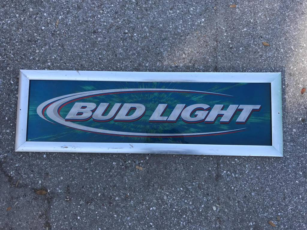 Budlight Sign