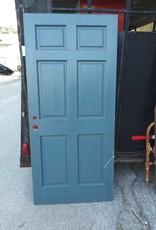 """Blue 6 Panel door  36"""" x 79 1/2"""""""