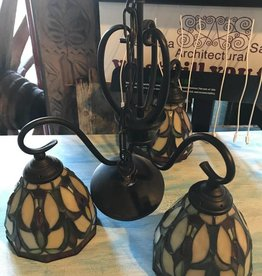 Stain Glass Chandelier