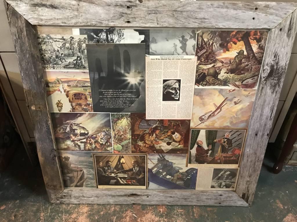 Barn Wood Framed Collage