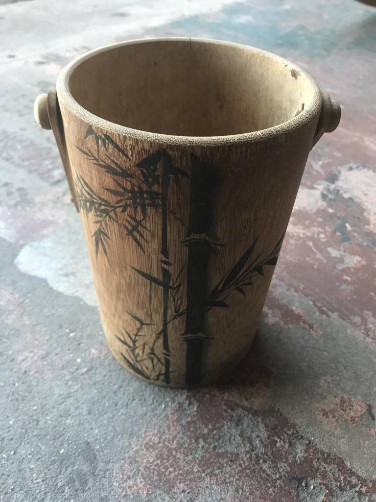 Asian Bamboo Bucket