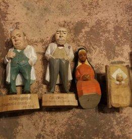 Carved Wooden Figures