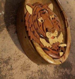 Lion Puzzle Box