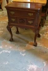 3 Drawer Side Table W/ Hidden Storage