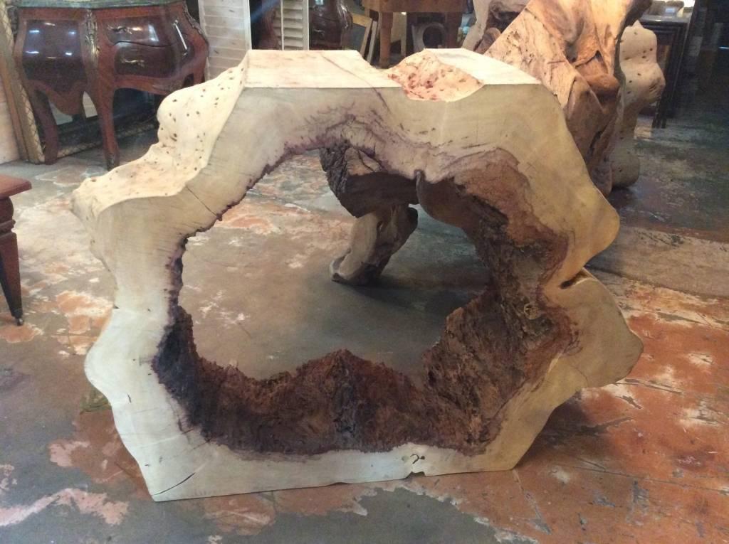 Tamarind console w/ erosion hole xxl