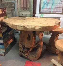 "Teak counter table 36"" tall"