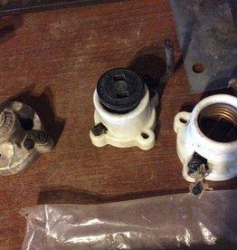 Porcelain light sockets