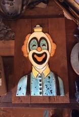 Clown wall hanging