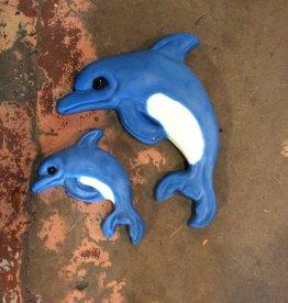 Decorative Stone Dolphin Sm