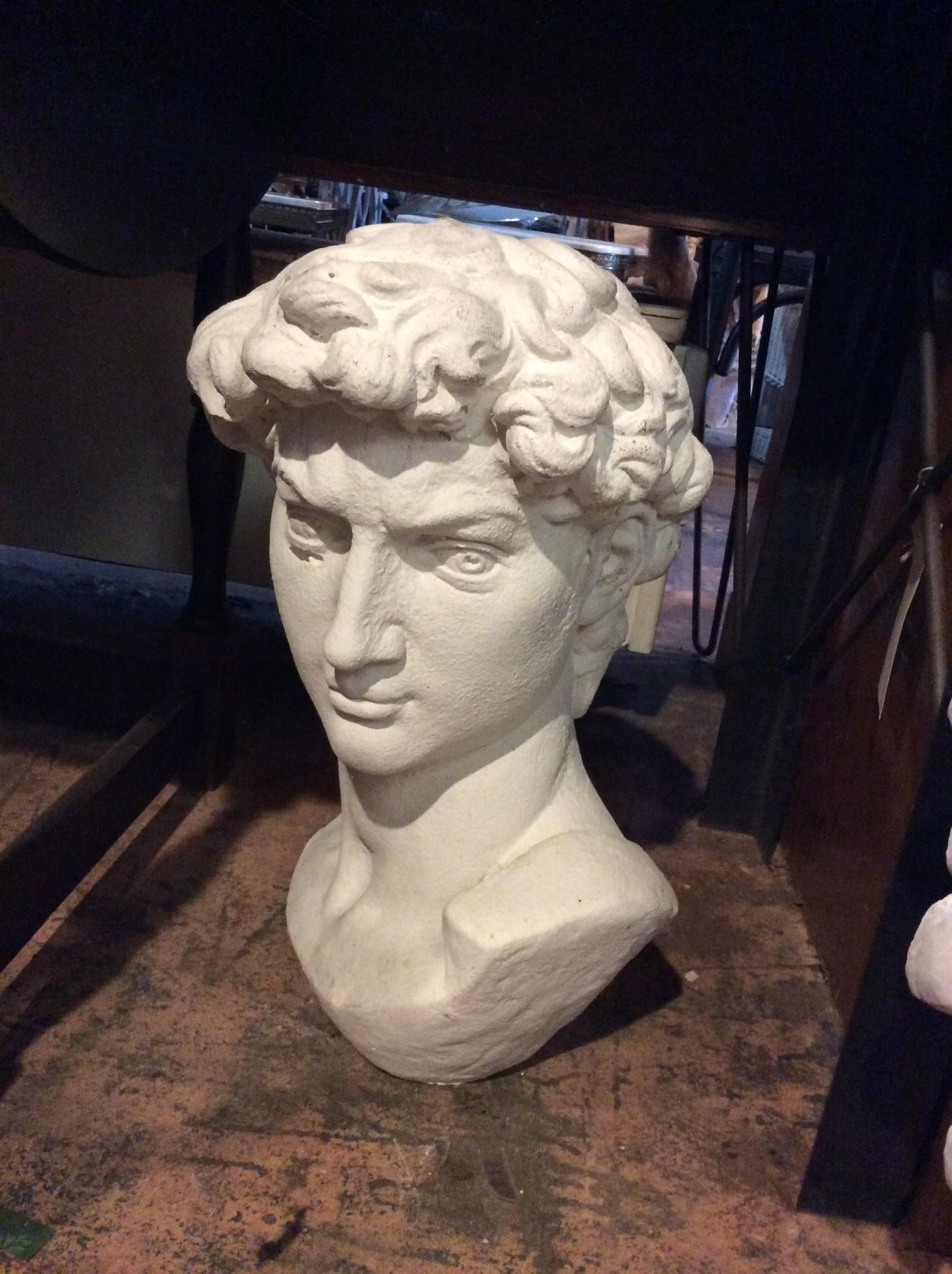 David Bust Statue