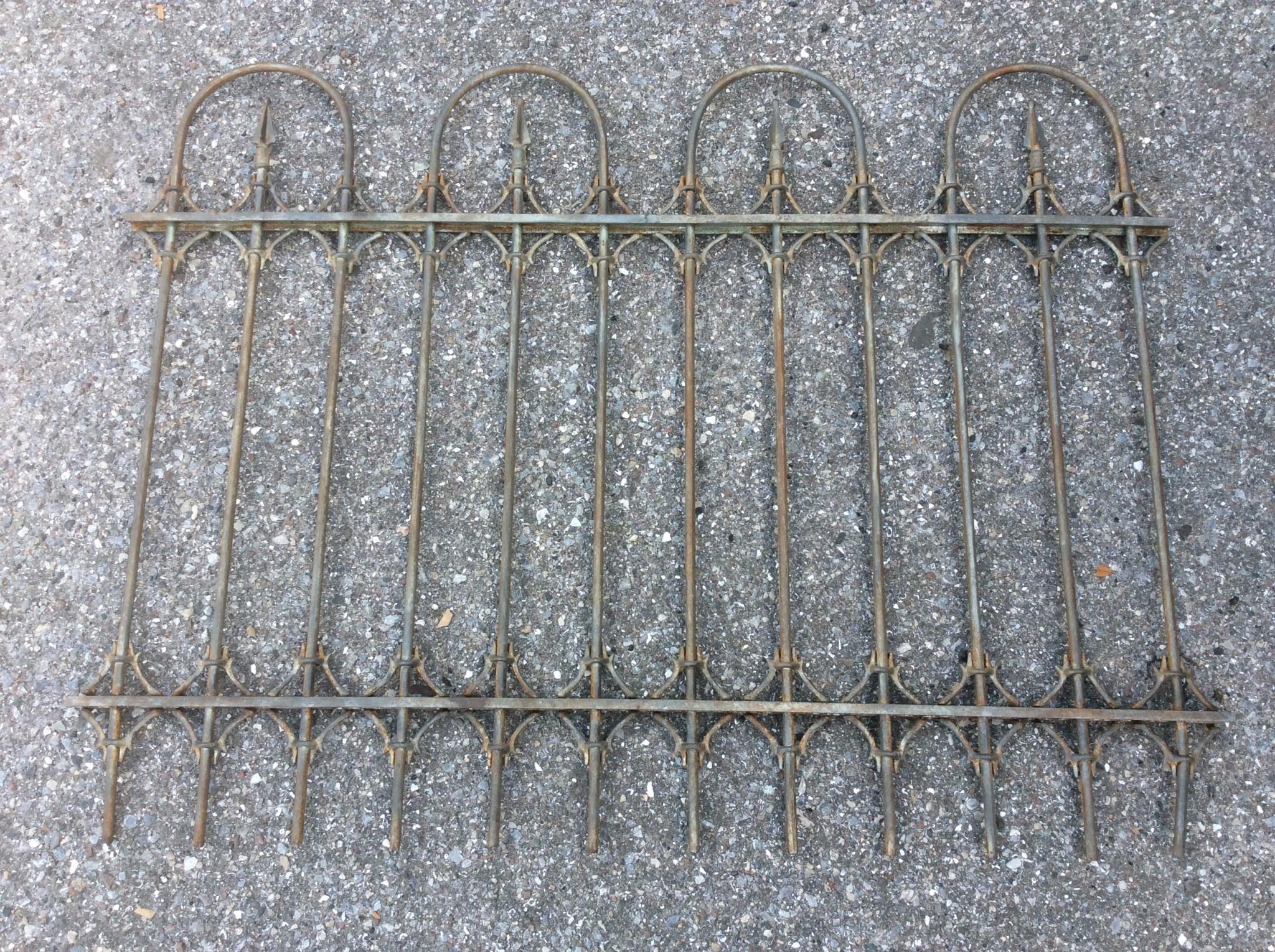 Vintage gate section