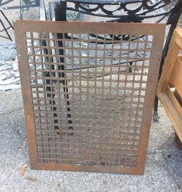 Cast iron grate